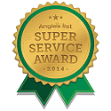 Angie's List Service Award Winner 2014