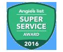 Super Service Award Angies List 2016