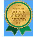 Super Service Award Angies List 2014